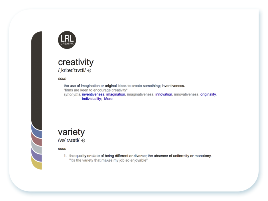 LRLcreativa meaning